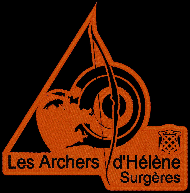 Logo club tir à l'arc des Archers d'Hélène Surgères